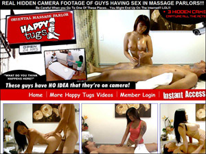 Hot action at the Asian Massage caught on hidden cameras